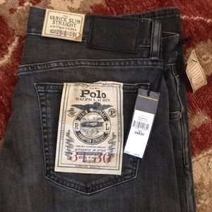 Ralph Lauren men's jeans grey